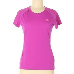 ADIDAS Pink/Purple Active Wear T-Shirt
